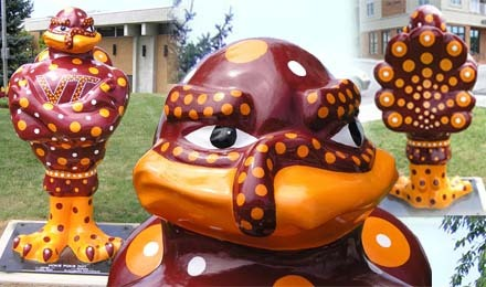 Hokie Bird, Virginia Tech Mascot